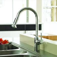 hansgrohe talis faucet reviews best faucets decoration hansgrohe talis s single handle pull down sprayer kitchen faucet in chrome 14877001 the home depot