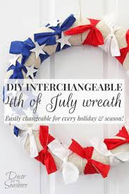4th of july flip flop wreath wreath ideas pinterest flip