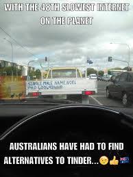 Aussie Memes - the aussie version of tinder only in australia