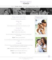 invitation websites wedding invitation and wedding gallery websites wda designs