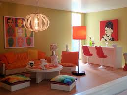 Orange Living Room Decor Decorating With Orange How To Incorporate A Risky Color Tastefully