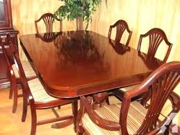 Duncan Phyfe Dining Room Table And Chairs Duncan Phyfe Dining Room Dining Room Set Table 2 Leaves 6 Chairs
