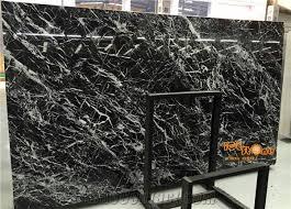 black marble flooring chinese withe black marble black snow marble slab black ice flower