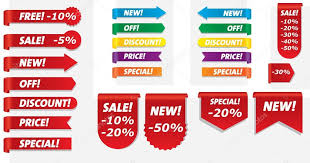 ribbons for sale corner ribbons for sale stock vector makc76 4311221