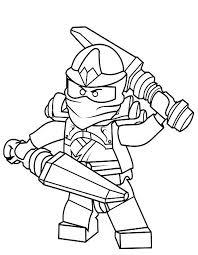 Coloriages Ninja Ranger Rouge Dessin Anime Ninjago Saison 7