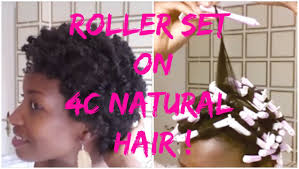 Roller Set Hairstyles How To Roller Set Natural Hair Natural Hairstyles For Short Hair
