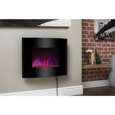 pacific wall mounted electric fire suite