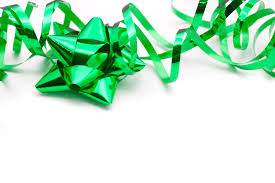 christmas wrapping bow photo of festive green ribbon and bow free christmas images