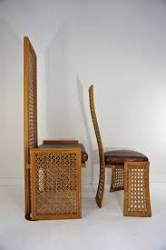 dining room italian rattan rattan dining chairs for modern dining