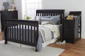 Storkcraft Portofino Convertible Crib And Changer Combo Espresso by New Sorelle Princeton Elite 4 In 1 Convertible Crib And Changer