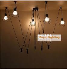 Pulley Pendant Light Bar Lifting Retro Industrial Lighting Candelabro Kitchen Novelty