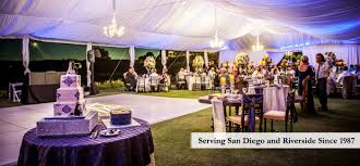 wedding rentals san diego s party rental we treat your party like our own
