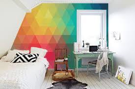 tapisserie chambre ado 10 papiers peints pour apporter de la couleur