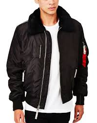 alpha industries black friday alpha industries injector iii jacket black at the idle man