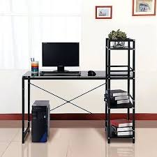 Black Ash Computer Desk Desk Morse Study Table Black Ash Oak Black Study Desk Nz Black