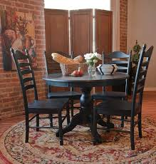 amazon com carolina classic winslow pedestal table antique black