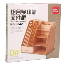 Wood Desk Accessories And Organizers by Aliexpress Com Buy 1 Set Diy Natural Color Wood Documents Trays