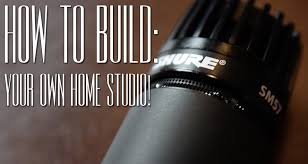 how to build your own home studio youtube