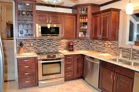 interesting glass backsplash ideas for home kitchen ideas on 25