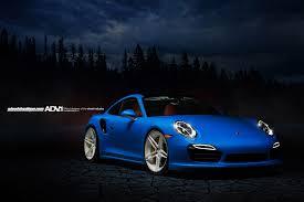Porsche 991 Turbo S Adv05 M V2 Cs Gloss White