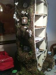 how i made the miniature mouse tree house my miniature mouse