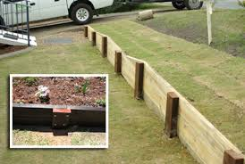 ILandscape  Products - Timber retaining wall design