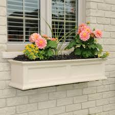 Window Planters Indoor by Window Boxes Pots U0026 Planters The Home Depot