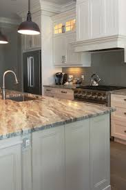 grey kitchen cabinets with granite countertops 50 popular brown granite kitchen countertops design ideas