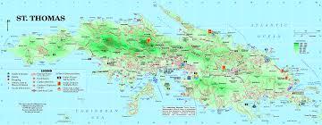 st islands map us islands map st major tourist