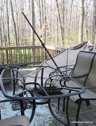 Patio Table Glass Shattered Goodbye Patio Table Hello Screened Porch Hooked On Houses