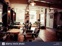 men s barber shop retro styled interior design stock photo men s barber shop retro styled interior design