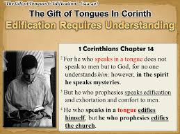 Prophecy Is For Edification Exhortation And Comfort Now Concerning