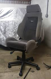 comfortable car seat office chair how to make old car seat