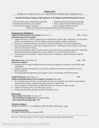 Sle Resume For Mechanical Engineer Fresh Mechanical Engineer Resume Sales Mechanical Site