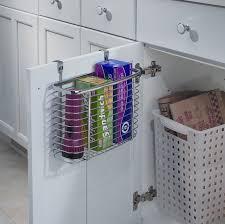 Cabinet Door Organizer Interdesign Axis Cabinet Door Organizer Reviews Wayfair