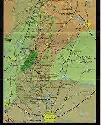 Appalachian Trail Virginia Map by Hike The Appalachian Trail