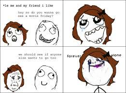 Forever Alone Girl Meme - forever alone guy maxlol