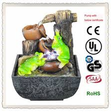 small animal craft frog tabletop ornamental water fountains buy