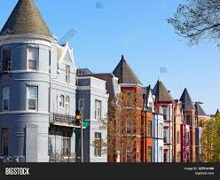 Row Houses by Residential Row Houses In Us Capital In Spring Historic