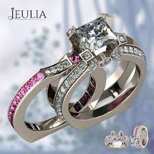 Jeulia Wedding Rings by 72 Best Bridal Set Of Ring Images On Pinterest Bridal Sets