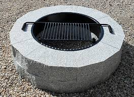 Granite Fire Pit by Outdoor Fire Pits Fire Pit Granite