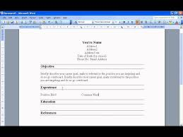 Resume Templates On Word 2010 How To Make A Resume On Word 2010 Free Resume Example And