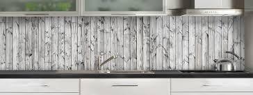 credence cuisine bois crédence de cuisine planches en bois gris c macredence com