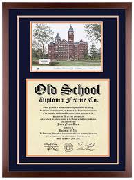 auburn diploma frame auburn diploma frame with artwork in