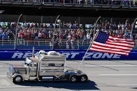 American Flag On Truck Event Calendar Talladega Superspeedway