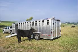 cattle trailer lighted sign foreman