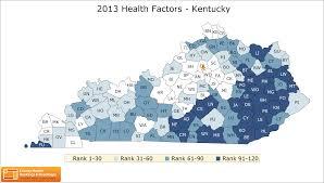 Map Of Kentucky State by Kentucky Rankings Data County Health Rankings U0026 Roadmaps