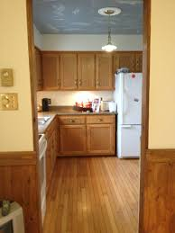 Painting Pressboard Kitchen Cabinets More Kitchen Tips Tricks And A Lot Of White Paint Diy Passion