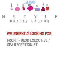 Front Desk Jobs Hiring by Hiring Female Receptionist Linkinads Com Advertisement
