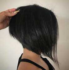 one side stack sassy bob bllack hair 70 cute and easy to style short layered hairstyles layered
